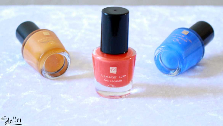 Nail art coloré et estival avec les vernis FM GROUP