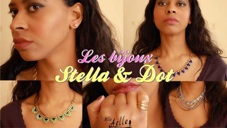 Présentation des bijoux Stella & Dot