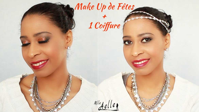 Maquillage de fêtes + 1 Coiffure