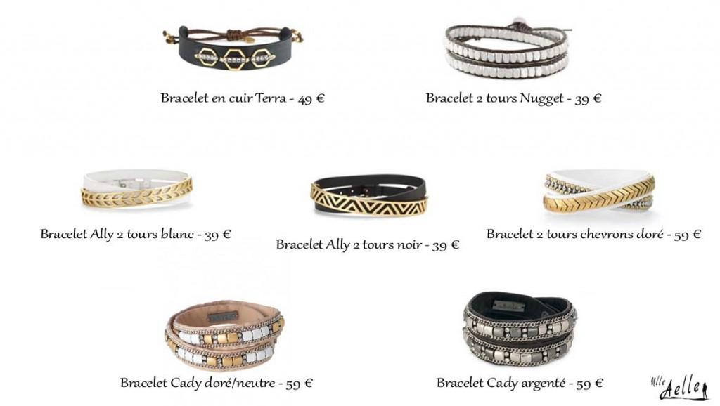 Ma sélection de bracelets pour Homme Stella & Dot !