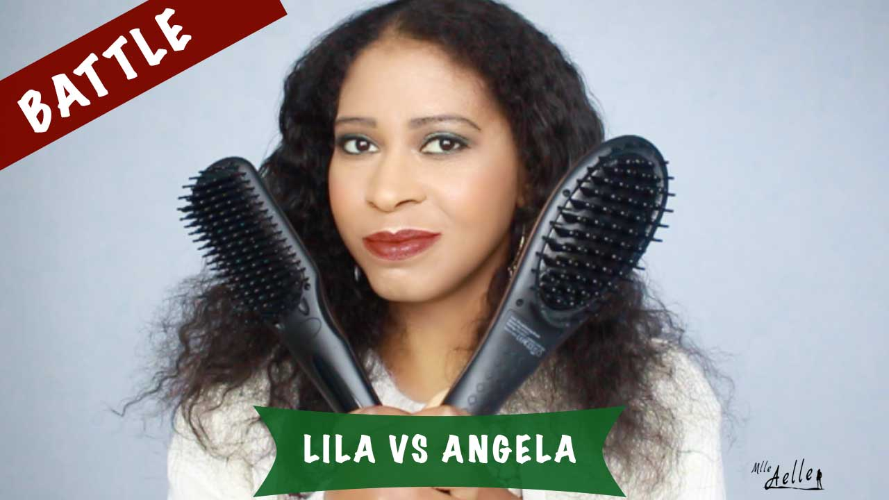 Battle brosses lissantes Madame Paris - Angela VS Lila