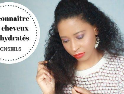 Reconnaître des cheveux déshydratés