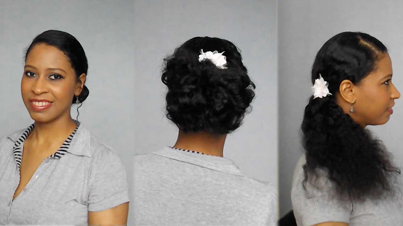 3 coiffures faciles à réaliser