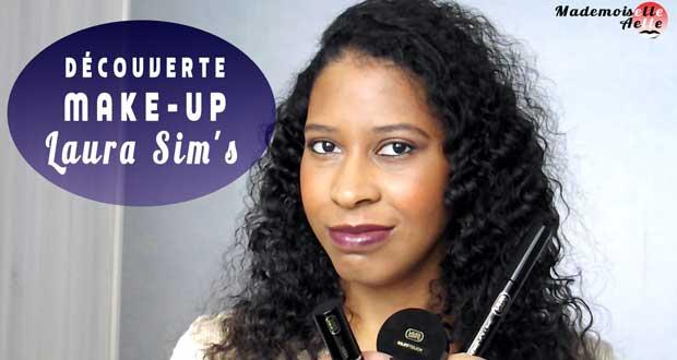 Découverte make-up : les produits Laura Sim's