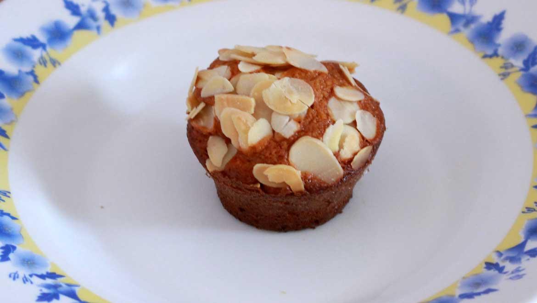 Muffins moelleux au citron et aux amandes