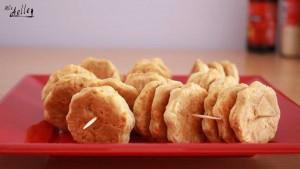 Crackers au comté croustillants