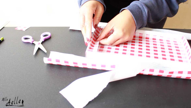DIY rentrée #1 - Fabriquer un organisateur de bureau