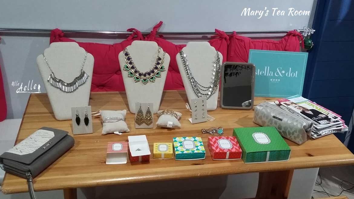 Les photos du Trunk Show Stella & Dot au Mary's Tea Room