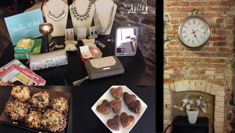 Les photos du Trunk Show Stella & Dot à L'Atelier des Délices