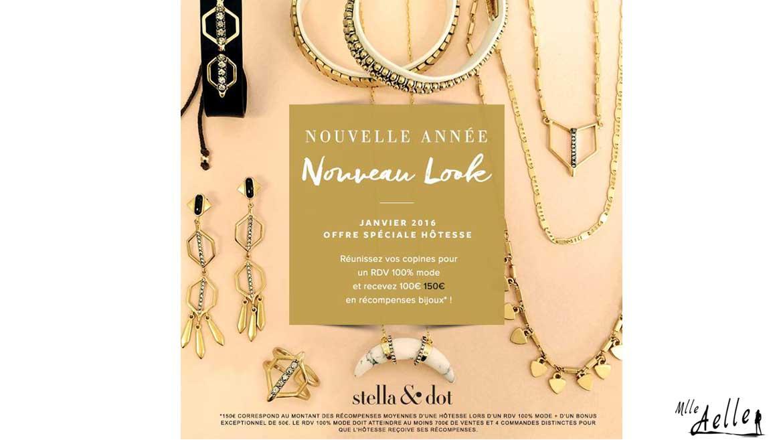 Offre Spéciale Hôtesse Stella & Dot : 50€ de récompenses bijoux supplémentaires !