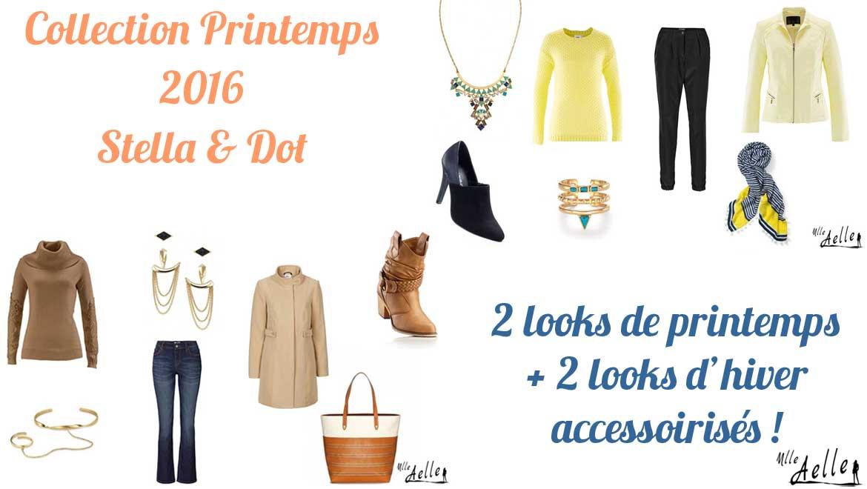 Collection Printemps Stella & Dot : 4 looks de printemps et d'hiver accessoirisés !