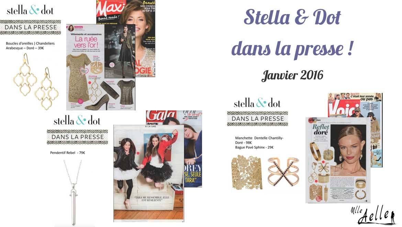 Stella & Dot dans la Presse - Janvier 2016