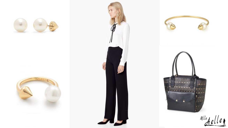 5 tenues de travail accessoirisées