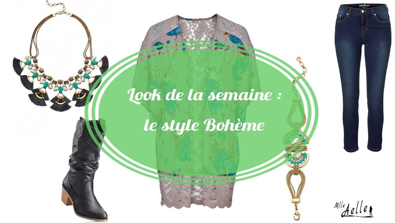 Look de la semaine : le style bohème