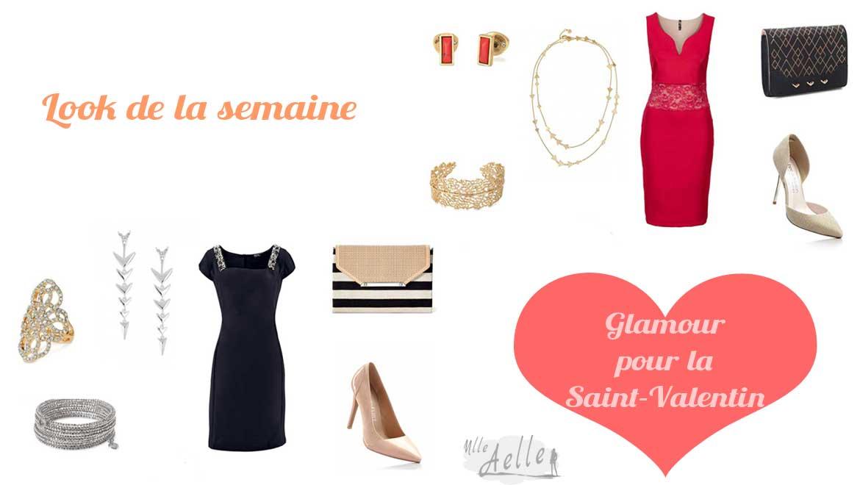 Look de la semaine : Glamour pour la Saint-Valentin