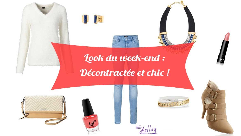 Look du week-end : Décontractée et chic !