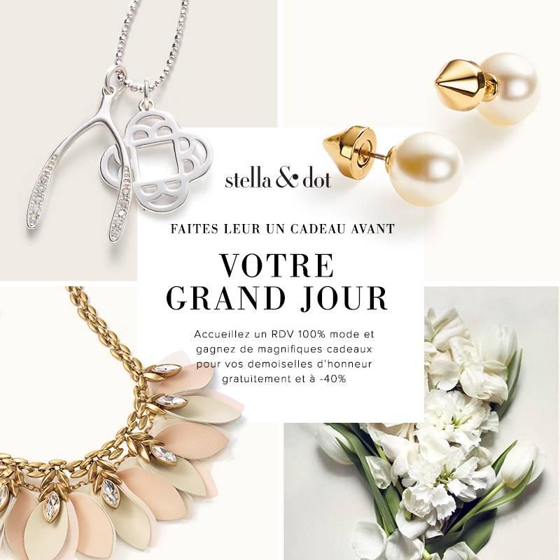 Stella & Dot : trouvez le bijou parfait pour votre mariage !