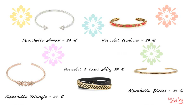 Sélection spécial petits prix de bagues et de bracelets Stella & Dot