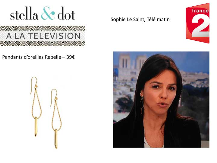 Stella & Dot dans la Presse et à la Télévision - Mai 2016
