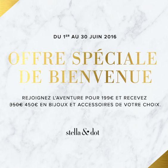 L'Offre Exclusive Trunk Show Stella & Dot du mois de juin