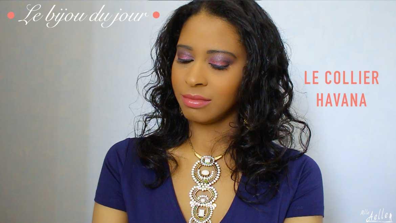 Le bijou du jour - Le Collier Havana Stella & Dot