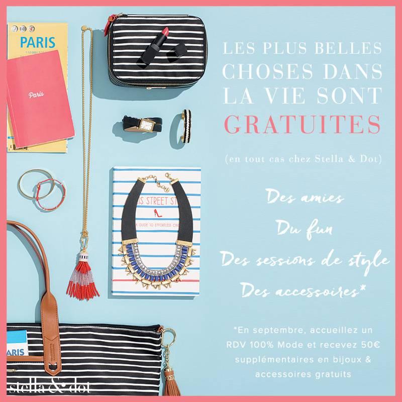 Offre spéciale Hôtesse Stella & Dot : gagnez 50 € supplémentaires !