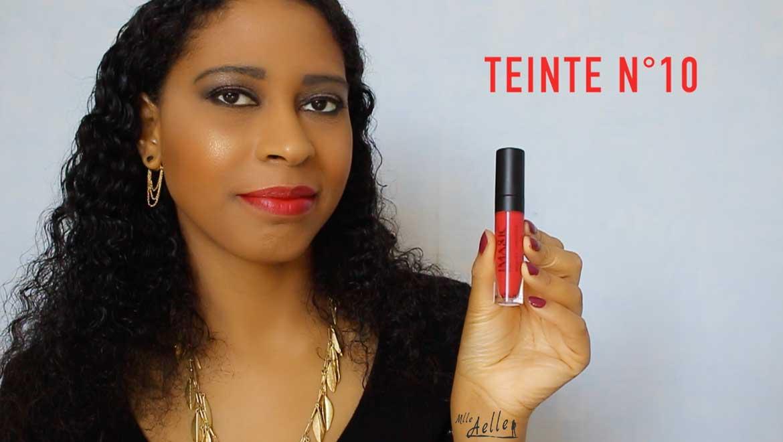 Swatch rouges à lèvres mats IMAGIC