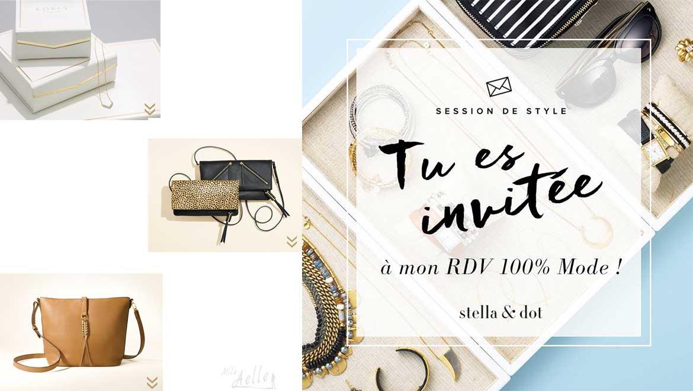 Promotions et actualités Stella & Dot - Septembre 2016