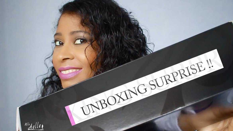 Unboxing surprise !!