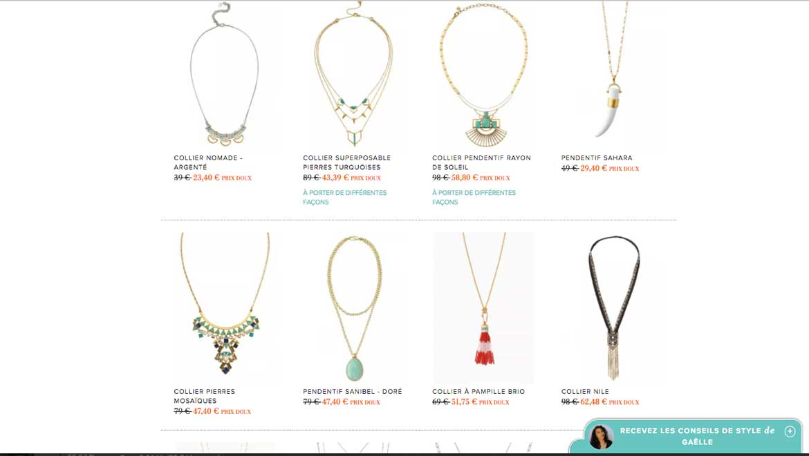 Top départ pour le Black Friday Stella & Dot !