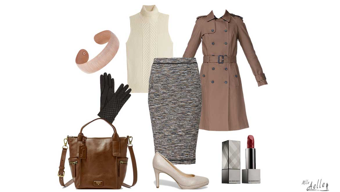 Look du jour : Busy Working Girl