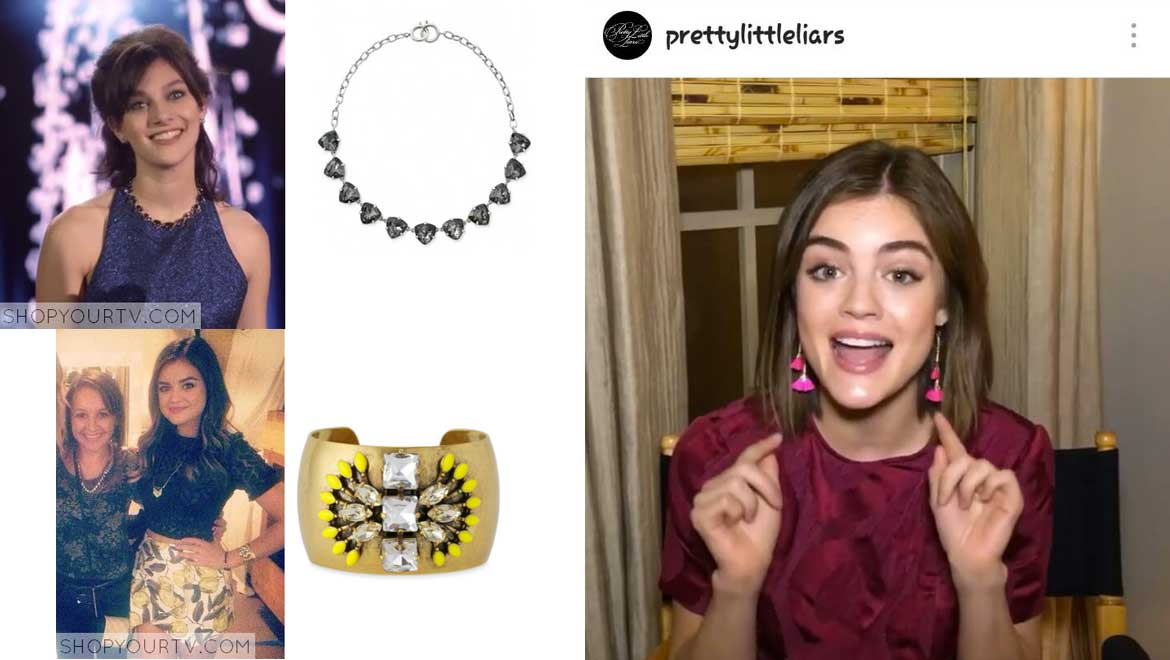 Pretty Little Liars : les actrices adorent les bijoux Stella & Dot
