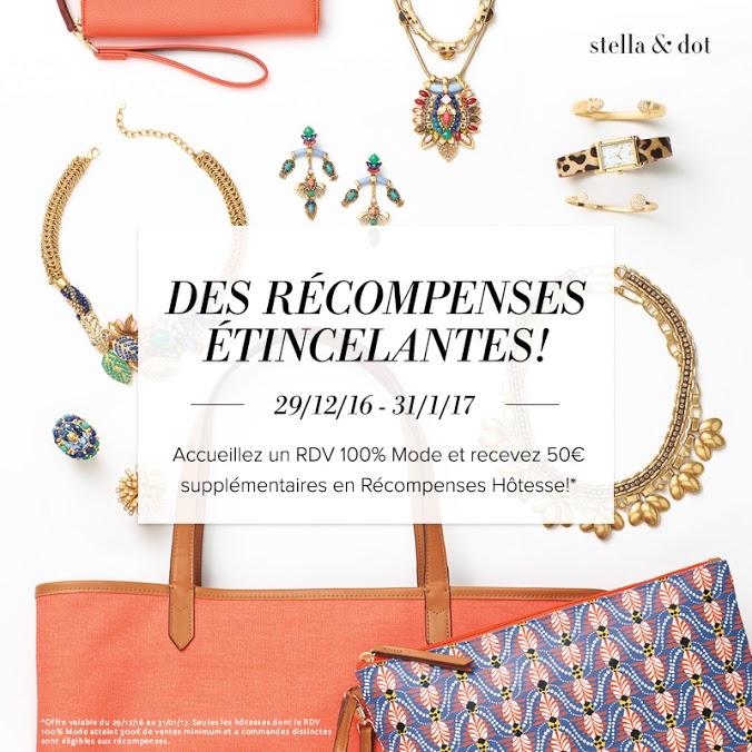 Offre Hôtesse Stella & Dot - Janvier 2017