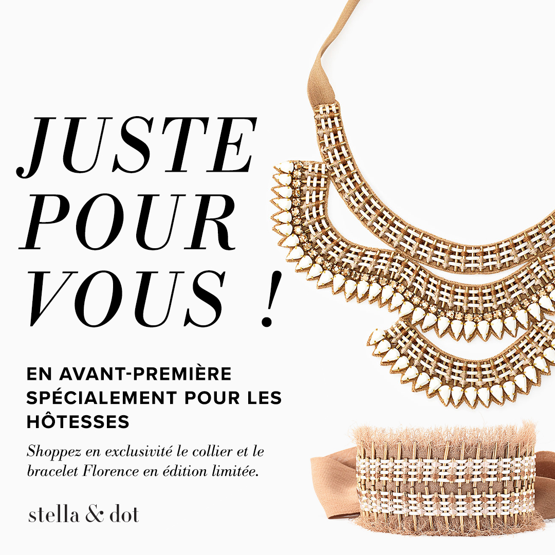 Collection Capsule Stella & Dot Été 2017