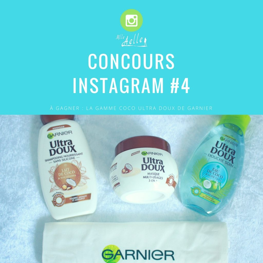 La gamme Coco Ultra Doux de Garnier