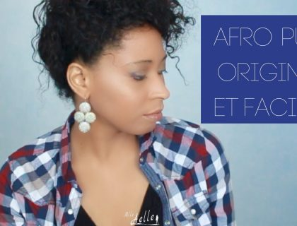 Afro puff original et facile