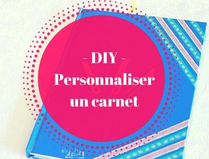 DIY - Personnaliser un carnet