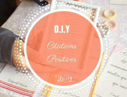 DIY Citations Positives