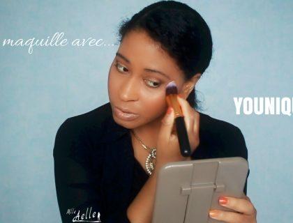 Maquillage avec les produits Younique