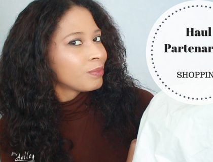 Haul Partenariats : Dresslily et Shaba