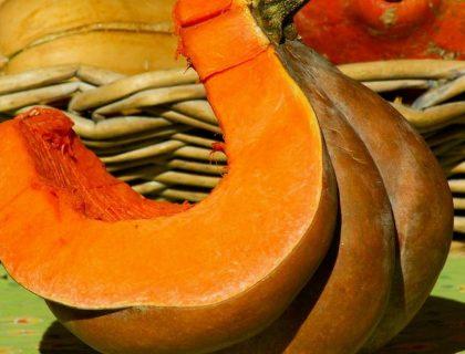 Cake au potiron et à l'orange