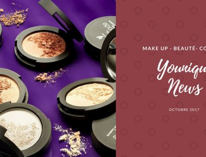 News Younique - Octobre 2017