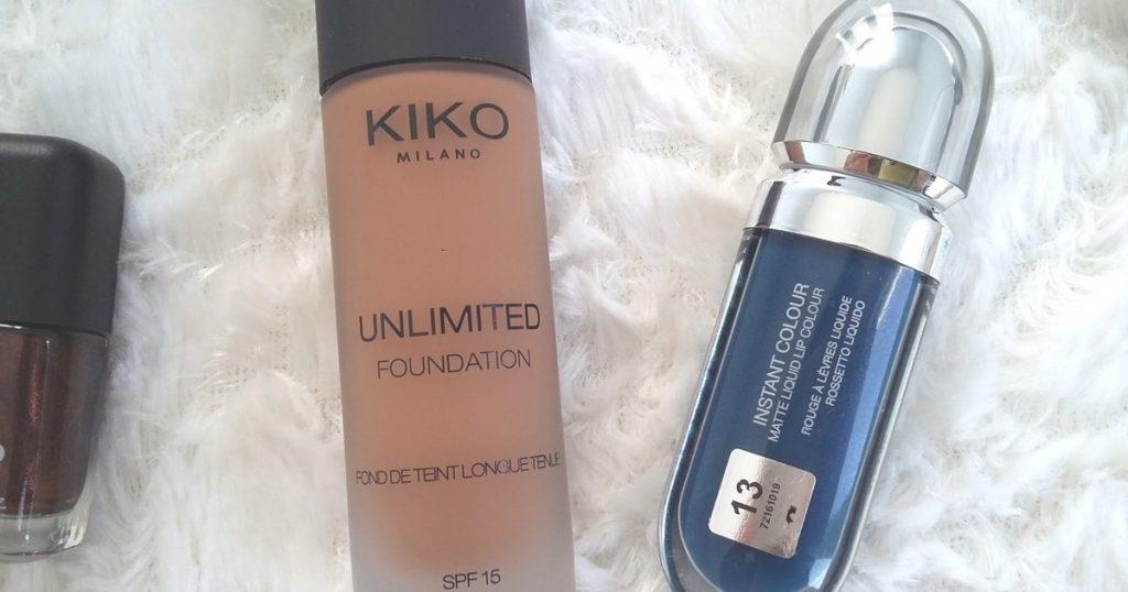 Mes derniers achats : Kiko, Azeredo