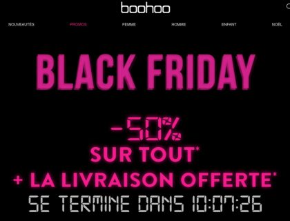 Codes promos Fashion pour le Black Friday