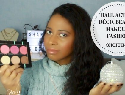 Haul ACTION déco beauté make up fashion