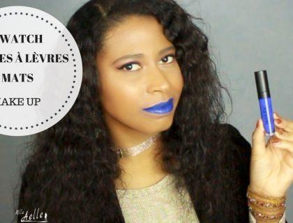 Démonstration de rouges à lèvres mats | SWATCH