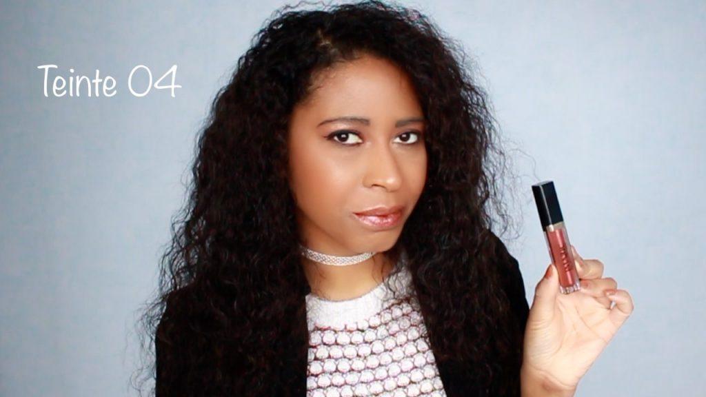 Démonstration de rouges à lèvres métalliques | SWATCH