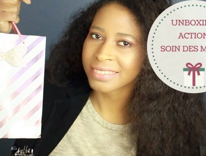 Unboxing Action Coffret Soin des Mains White Peony