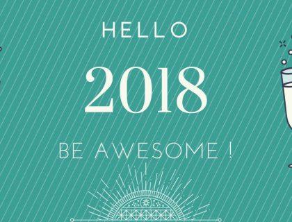 Au Revoir 2017 et Bonjour 2018 !