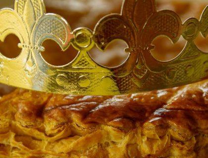 Délicieuse Galette Des Rois aux Pommes et à l'Ananas